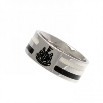 Newcastle United Colour Stripe Ring - Medium